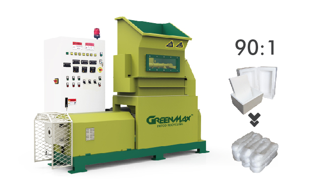 Polystyrene Compactor Intco Greenmax Recycling